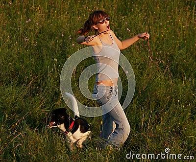 Dancing In The Field