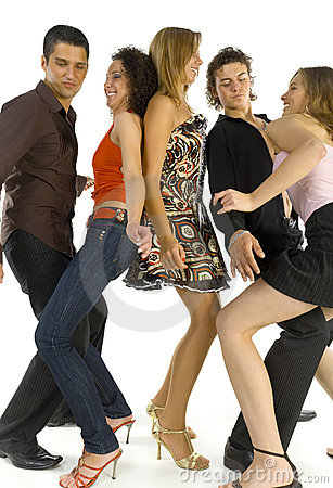 Free Dancing Friends Stock Images - 3281824