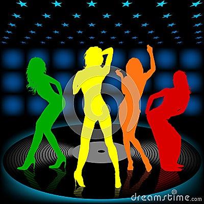Free Dancing Girl 08 Stock Images - 1797134