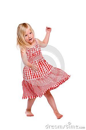 Free Dancing Girl Stock Photography - 5328592