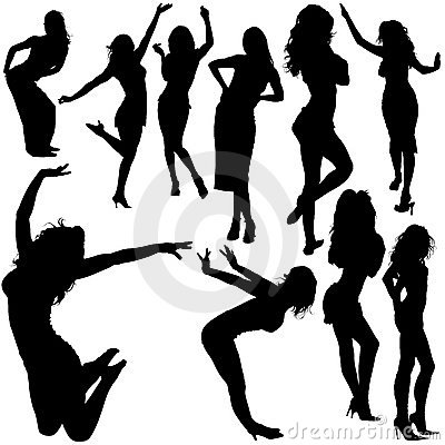 Free Dancing Girls 04 Royalty Free Stock Photo - 3017345