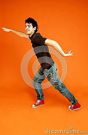 Dancing guy.