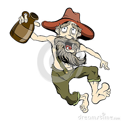 Free Dancing Hillbilly Stock Images - 49803114