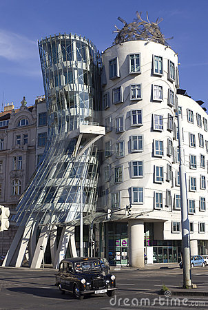 Dancing house Editorial Stock Photo