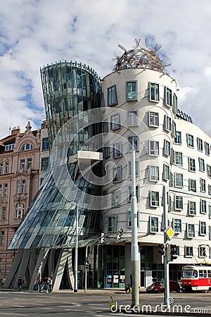 Dancing house, Prague Editorial Image
