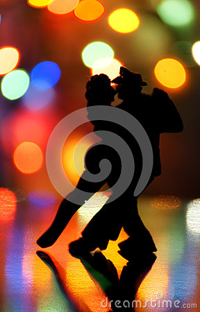 Free Dancing In The Night Stock Photo - 35230750