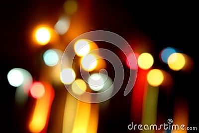 Dancing Light Streaks