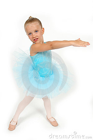 Dancing Little Ballerina