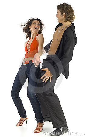 Free Dancing Lovers Stock Image - 3283281