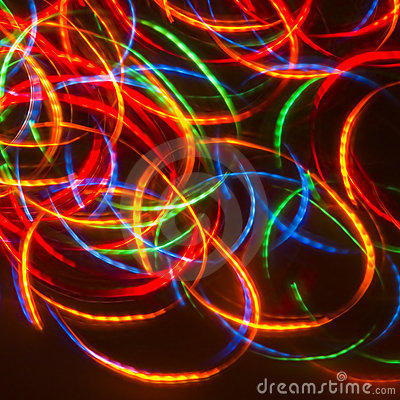 Free Dancing Neon Disco Lights Stock Photography - 1278262