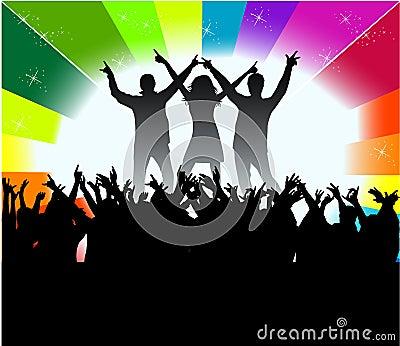 Dancing peopl - audience