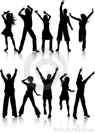 Free Dancing People Stock Photos - 10460273