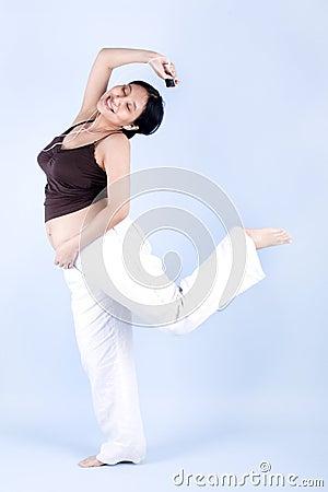 Dancing Pregnant Woman 64