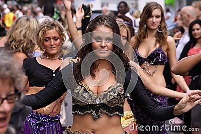 Dancing queens Editorial Image