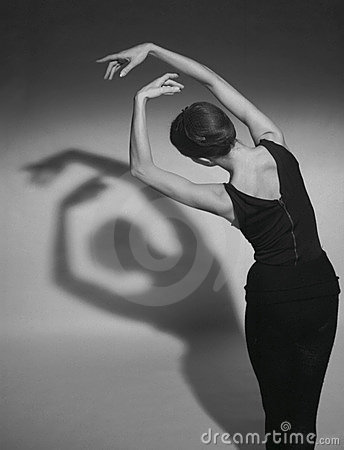 Dancing shadows Editorial Stock Photo