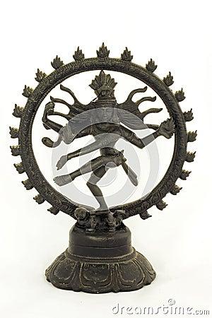 Dancing shiva from iron