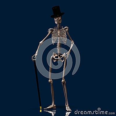 Dancing Skeleton #01