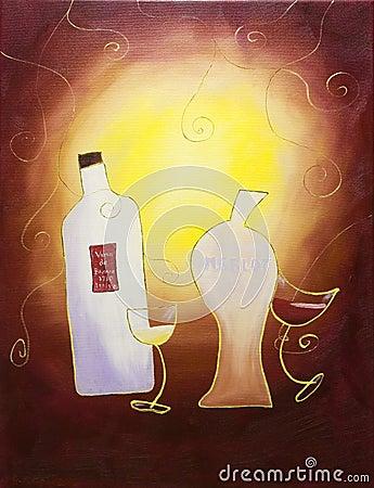 Dancing wines