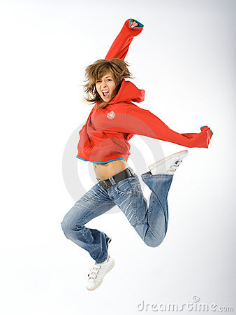 Free Dancing Woman Royalty Free Stock Photos - 4624908