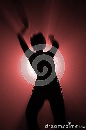 Free Dancing Woman Royalty Free Stock Photos - 7121898