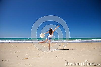 Dancing at Zahara beach