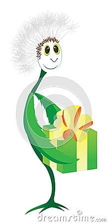 Dandelion flower illustration