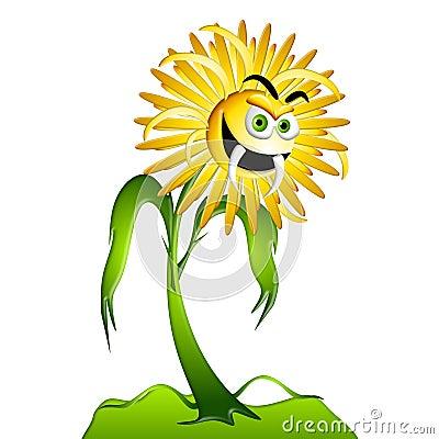 Dandelion Weed Allergy Monster 2