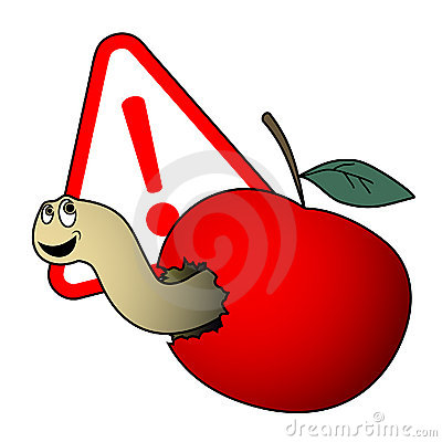 Danger apple