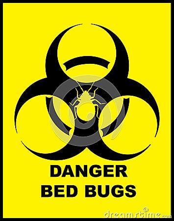 Danger BedBugs Hazard