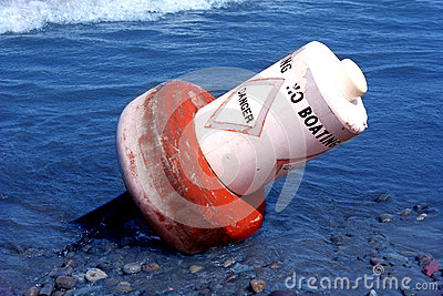 Danger Buoy Toppled