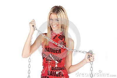 Danger chain smile