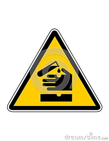 Danger corrosion