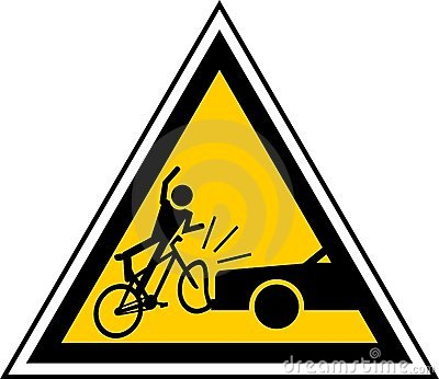 Danger cyclists