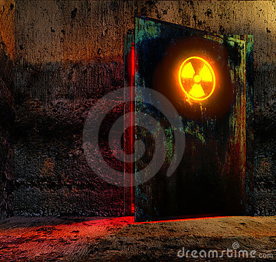 Free Danger Door Stock Photo - 19468640