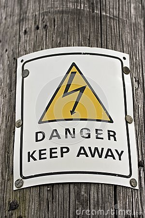 Danger electriticity