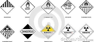 danger goods symbol