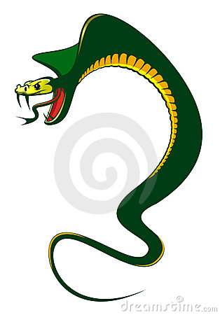 Danger green cobra