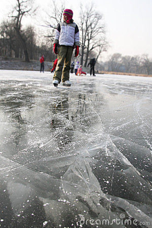 Danger on the ice