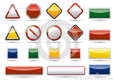 Danger icon elements