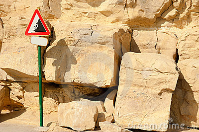 Danger, landslide!