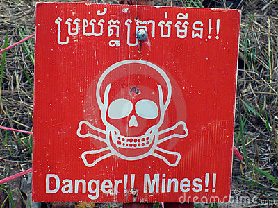 Danger Mines signal