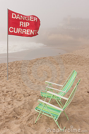 Danger rip current