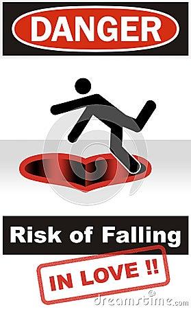 Danger: Risk of Falling in Love
