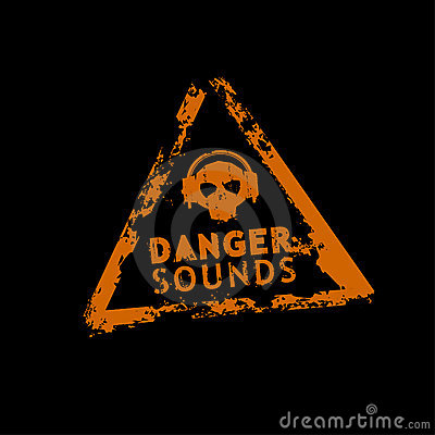 Danger sound stamp