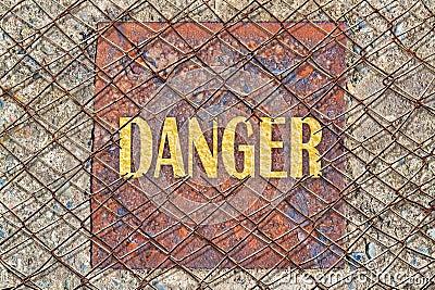 broken fence warning announcement - photo #39