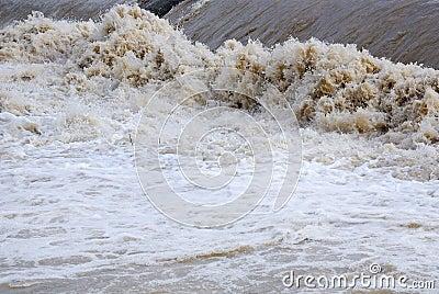 Dangerous rapids