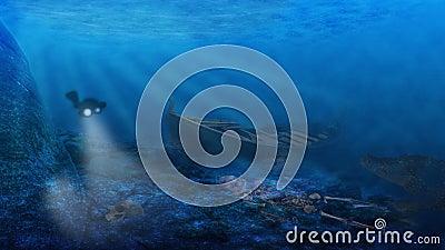 Dangers underwater