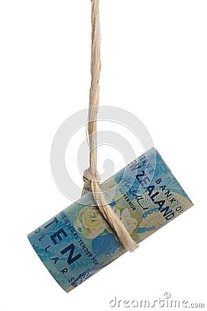 Dangling New Zealand dollar