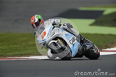 Dani petrucci, moto gp 2012 Editorial Image