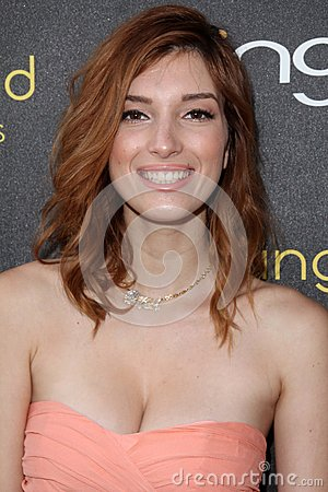 Dani Thorne at the 14th Annual Young Hollywood Awards, Hollywood Athletic Club, Hollywood, CA 06-14-12 Editorial Stock Image